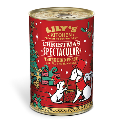 Christmas Three Bird Feast (400g) Lily's Kitchen Special Edition