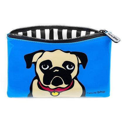 Marc Tetro Pug Cosmetic Bag