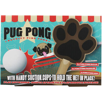 Pug Pong - Novelty Game / Gift