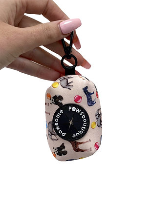 Up Pup & Away Poo Bag Holder by Pawsome Paws Boutique