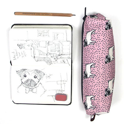 Pug Pencil Case