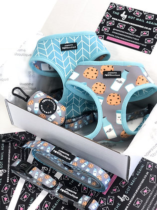 Cookies & Milk Reversible Harness from Pawsome Paws
