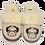 Designer pug Slippers