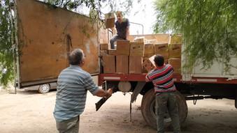 Campaña Donación Comunidad QOM - El Albarrobal. Diciembre 2019
