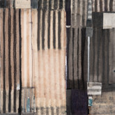 "Mild Mixed media on wood panel 18"" x 18"" 2018"