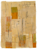 """Sandy Road Mixed media on Arches paper 22"""" x 30"""" 2006"""