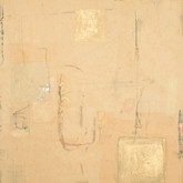 "Tact Mixed media on wood panel 14"" x 18"" 2003"