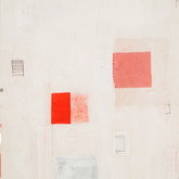 "His Burden Is Light Mixed media on wood panel 14"" x 18"" 2007"