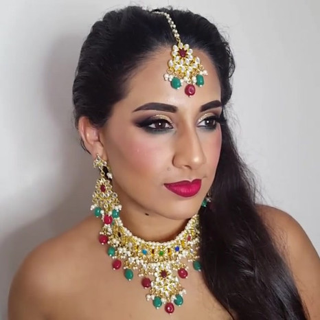 The beautiful Priya _priya_913 . _Makeup