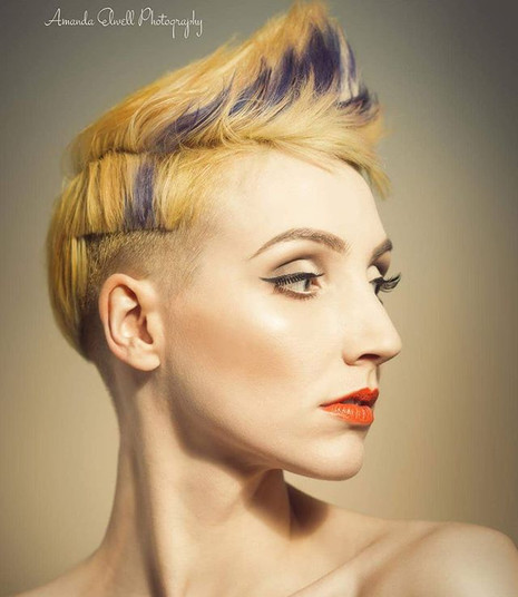 Makeup by- me. _maccosmetics _Model - An