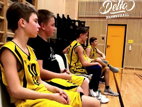 Delta/Nõo U16 tiim alustas mänge