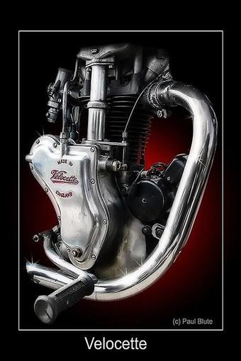 Motorbikes as art