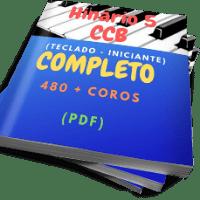 HINÁRIO 5 CCB PARA TECLADO - NÍVEL INICIANTE - (PDF) Musica