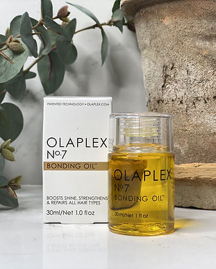 Olaplex product Bonding Oil at Russell James Chalfont St Giles hair salon