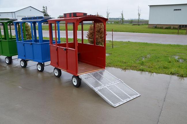 Wheelchair Caboose