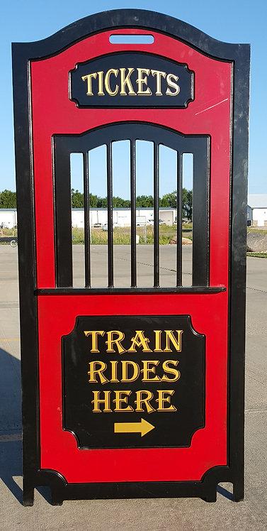 Railroad Ticket Window