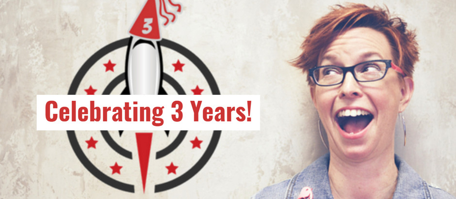 Launching Your Success Celebrates 3 Years!