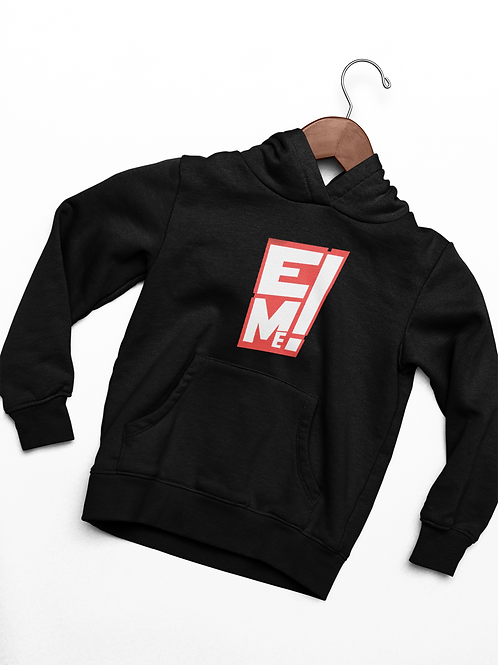 Black EntertainME Logo Hoodie