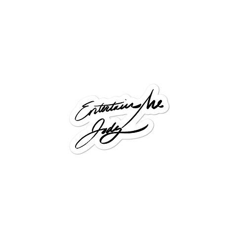 EntertainMe Jody Signature Stickers