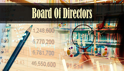 The General Assembly elects the members of the Board of Directors for the specified annual term.