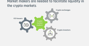 Why your IEO and ICO needs a market maker