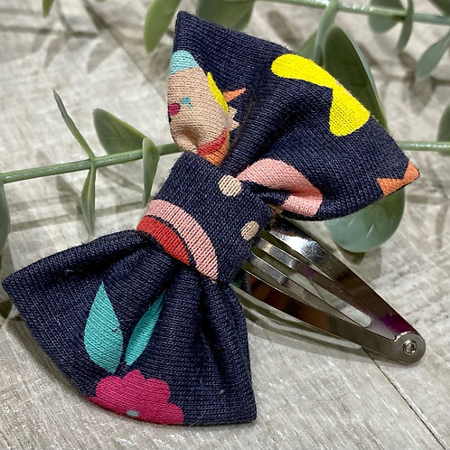 Classic Mini Bow Snap Clips Rainbows and Unicorns