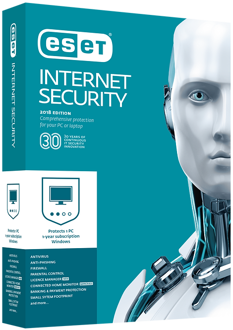 ESET Internet Security 1 User 1 Years Protection