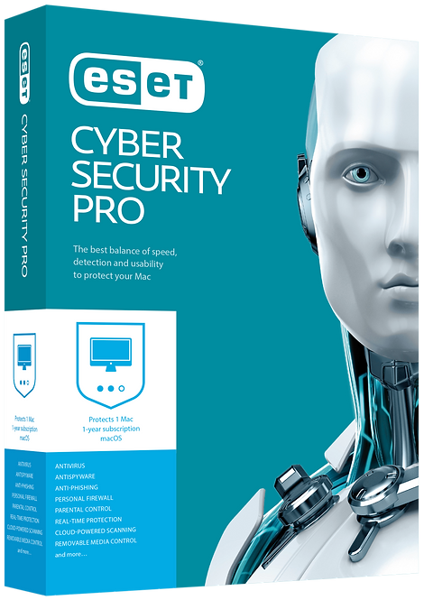 Cyber Security Pro  1 User 1 Years Protection