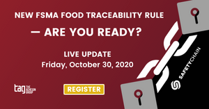 FDA's Food traceability list – Are you Up to Date?