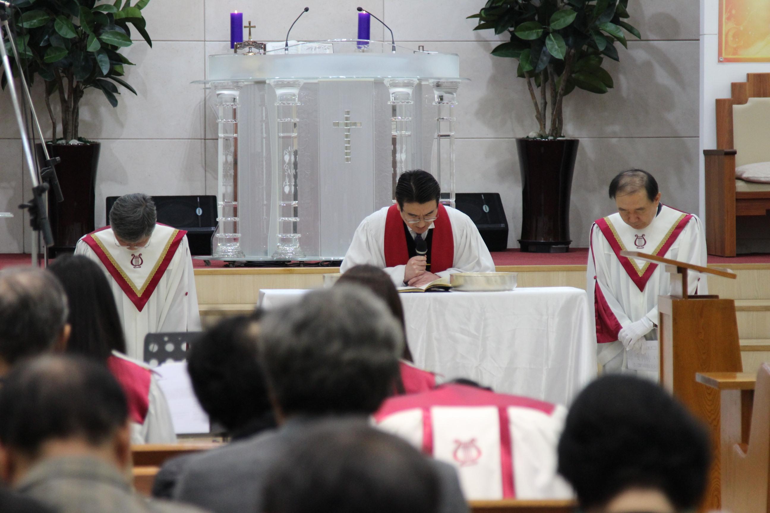 2019 성금요일 성찬예배