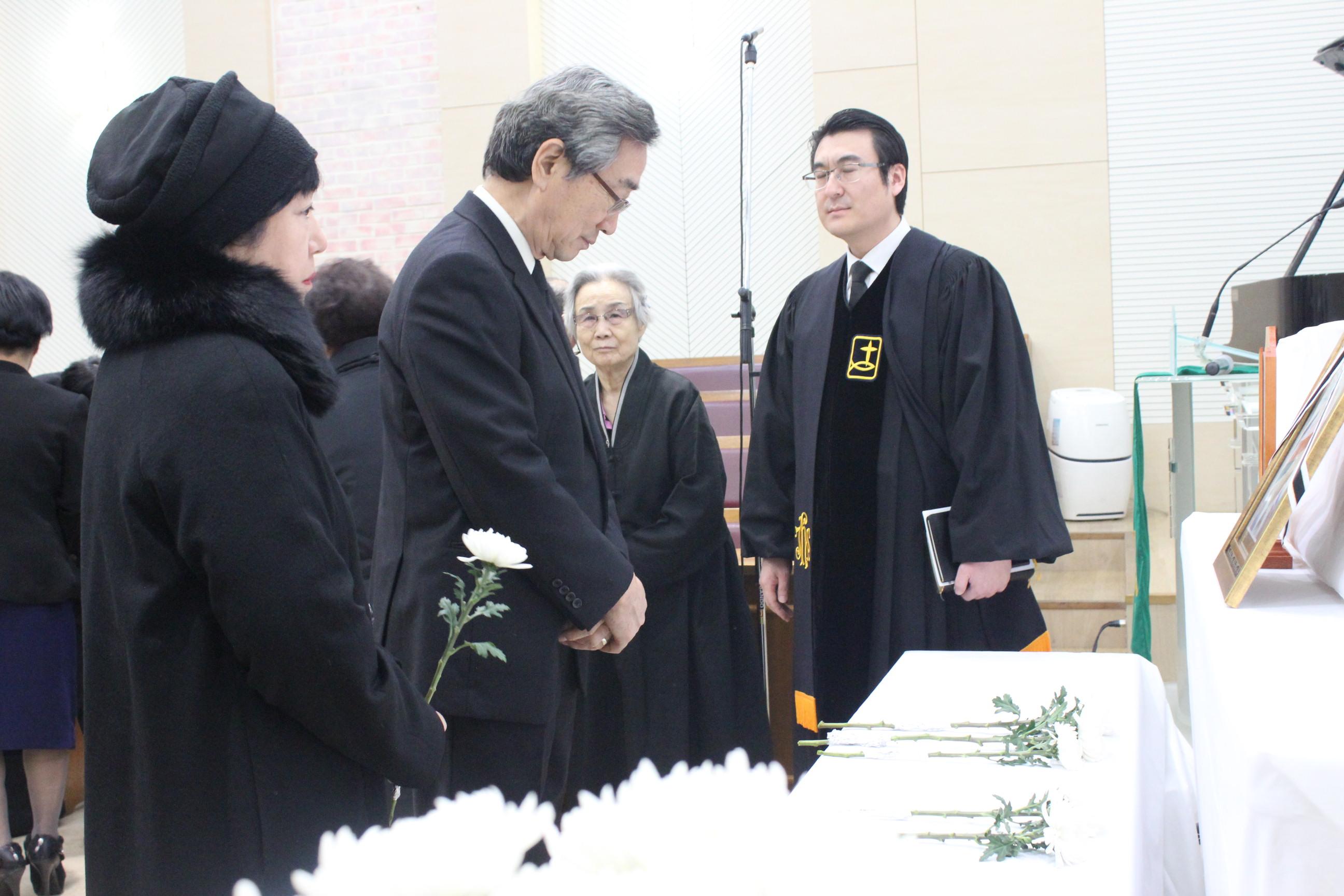 백승엽 장로님 장례예식