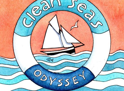Sailing to #SaveOurSeas -  Launching the Clean Seas Odyssey