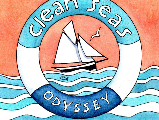 Sailing to #SaveOurSeas -  Launching the Clean Seas Odyssey