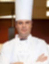 Kucharz z kapelusz wysokie
