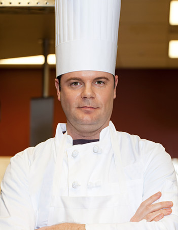 Chef with Tall Hat
