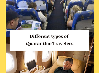 Different Types of Quarantine Travelers