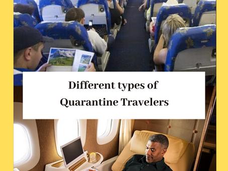 Different Types of Quarantine Travelers