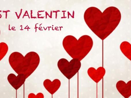 14 février, c'est la Saint Valentin