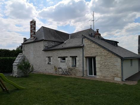 Maison ancienne restaurée Saint Mathurin sur Loire
