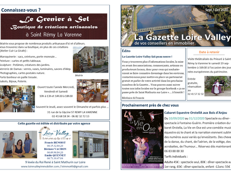 La Gazette Loire Valley             édition sept / oct 2020