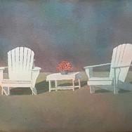 "SOLD ""2 Beach Chairs"""