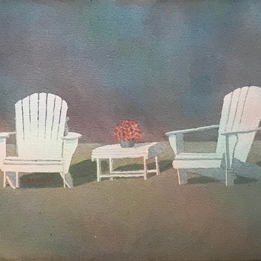 "SOLD ""2 Beach Chairs"""