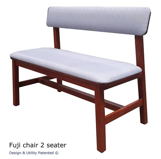 Fuji Dining Chair 2-seater