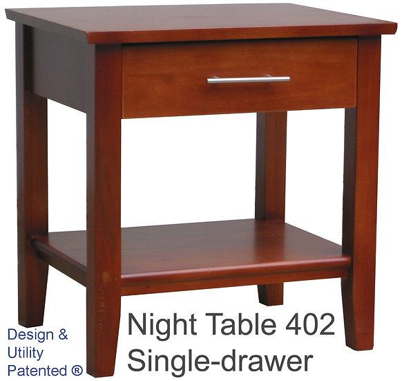 Night Table 402 Single Drawer