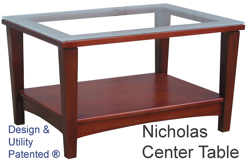 Nicholas Rectangle Center Table