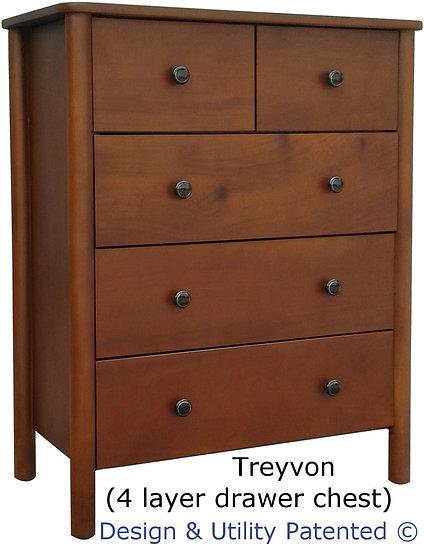 Treyvon Chest Drawer (5 Drawers)