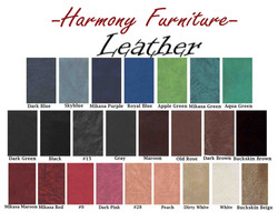 LEATHER SWATCHES MAY 2018