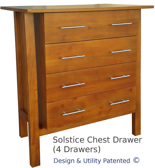 Solstice Chest Drawer(4 Drawer)
