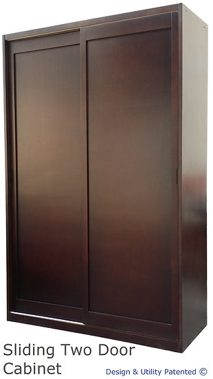 Sliding Two Door Cabinet