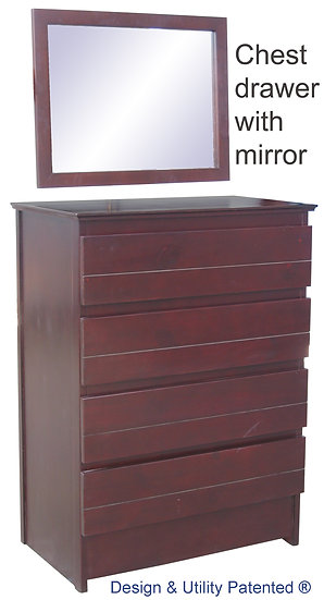 Circo Chest Drawer with Mirror